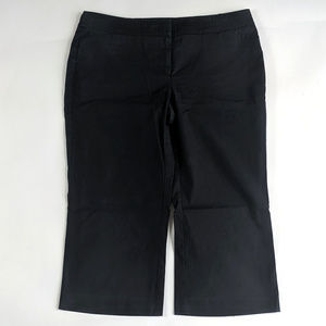 New York & Company Size 10 Stretch Cropped Pants